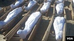 Jana'izar Manoma 43 Da Aka Yi Wa Yankar Rago a Borno