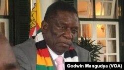 Mutungamiri wenyika VaEmmerson Mnangagwa vaudza musanganoo wePOLAD kuti vachazivisa nezvematanho matsva eLockdown svondo rinouya