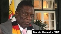 President Emmerson Mnangagwa On CoronVirus2