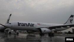 سومین هواپیمای ایرباس خریداری شده ایران پس از برجام وارد فرودگاه مهرآباد شد - آرشیو