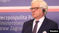 Министр иностранных дел Польши Яцек Чапутович (архивное фото)