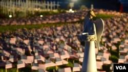 南加州居民在家打造9/11紀念園