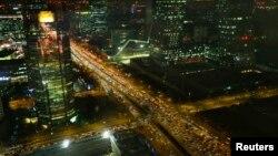 2012년 12월 17일 베이징의 전경.(자료사진)