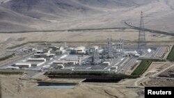 Объект в Араке в Иране, где ведется строительство реактора на тяжелой воде (архивное фото)