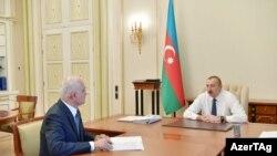 Prezident İlham Əliyev və Şahin Mustafayev