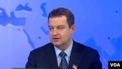 Predsednik vlade Srbije Ivica Dačić u studiju Glasa Amerike