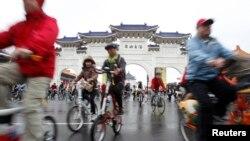 타이베이 자전거 출퇴근 인기
