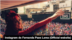 Atriz Fernanda Paes Leme