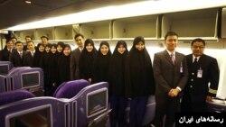 مهمانداران نیمه چادری هواپیمایی تایلند در ایران