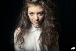 Australian singer Lorde poses for a portrait, on Nov. 8, 2013 in New York.