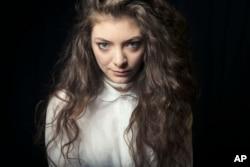 Australian singer Lorde poses for a portrait, on Nov. 8, 2013 in New York.