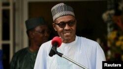 Tổng thống Nigeria Muhammadu Buhari.