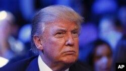 El aspirante presidencial republicano Donald Trump deja abierta la duda sobre su presencia en futuros debates