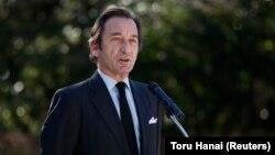 Thierry Dana, ambassadeur de France au Japon, à Tokyo le 8 janvier 2015.