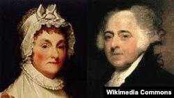 Con və Abigeyl Adams