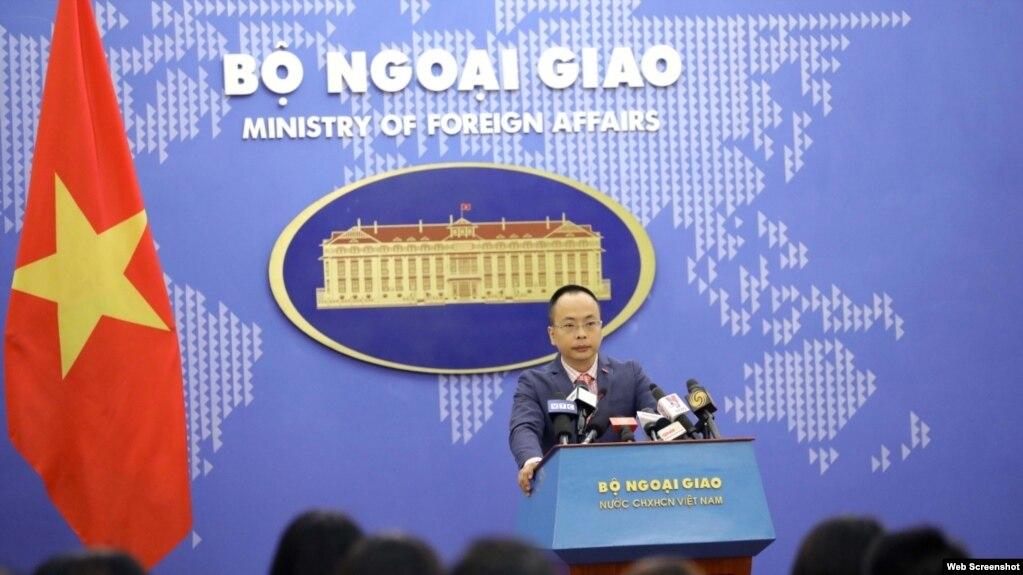 Phó Phát ngôn viên Bộ Ngoại giao Việt Nam Đoàn Khắc Việt.
