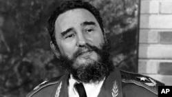 FILE - Cuba's Fidel Castro, pictured June 10, 1977.