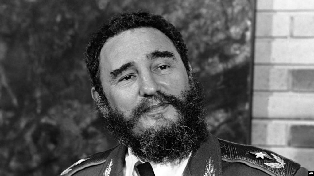 FILE - Cuba's Fidel Castro, pictured June 10, 1977.