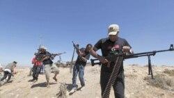 شورشیان لیبی یک انبار بزرگ مهمات را تصرف کردند