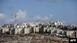 Khu định cư Gilo gần thị trấn Bethlehem đang bị Israel chiếm đóng.