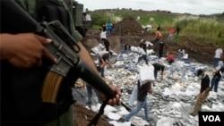 El gobierno peruano está combatiendo el narcotráfico en el país, aseguró el gobierno.