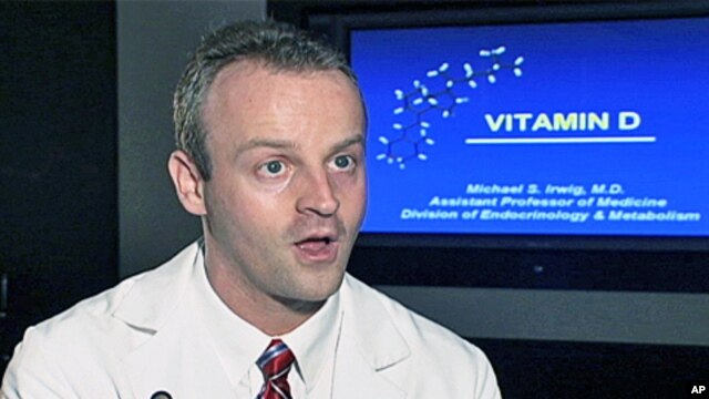 Dr. Michael Irwig, at George Washington University Medical School, lectures frequently on Vitamin D.