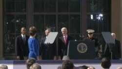 Footage from opening of Bush Library