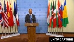 ကုလသမဂၢဆိုင္ရာ UK ဒုတိယ သံအမတ္ႀကီး James Kariuki (ဓာတ္ပံု - UN Web TV)