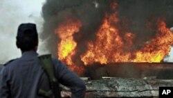نیٹو آئل ٹینکروں پر حملہ، 20تباہ