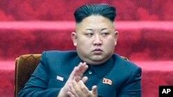 지난 4월 9일 최고인민회의 13기 1차 회의에 참석한 김정은 북한 국방위원회 제1위원장 (자료사진)