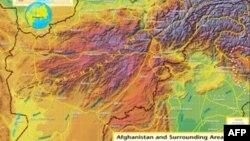 Əfqanıstanın xəritəsi