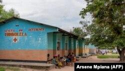 L'hôpital Tudikolela dans la communauté de Lipemba, à la périphérie de Mbuji-mayi, région du Kasaï, en République démocratique du Congo (RDC), le 1er mai 2021.