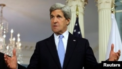Menlu AS John Kerry mengatakan 'sangat prihatin' bahwa pasukan keamanan Nigeria melakukan pelanggaran HAM berat (foto: dok).