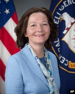 This undated photo released by the CIA, shows CIA Deputy Director Gina Haspel, who joined the CIA in 1985.