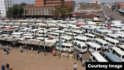 Some operators have blamed unlicensed kombis for the fare hike saying they are taking advantage of the distance a registered commuter bus takes to get into towm from Coventry holding bay. (Courtesy Photo)