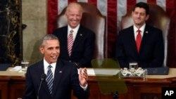 奧巴馬總統發表他最後一次國情咨文。