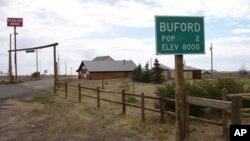 Đường vào thị trấn Buford
