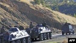 Türkiyənin təhlükəsizlik qüvvələri tərəfindən 21 kürd yaraqlısı öldürülüb