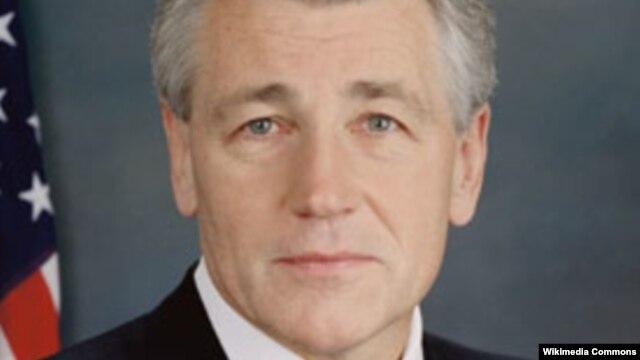 Thượng nghị sĩ Chuck Hagel.