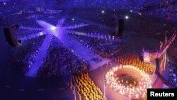 Kemeriahan saat acara penutupan Olimpiade London (12/08/2012). Kota ini akan menjadi tuan rumah dalam ajang Kejuaraan Renang Eropa 2016.