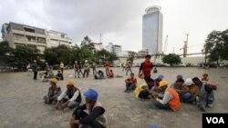 Freedom Park di Phnom Penh, Kamboja (foto: dok).