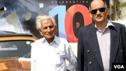 سکندر علی خان اور ان کے بیٹے منصور علی خان