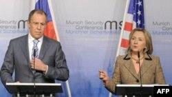 Сергей Лавров и Хиллари Клинтон