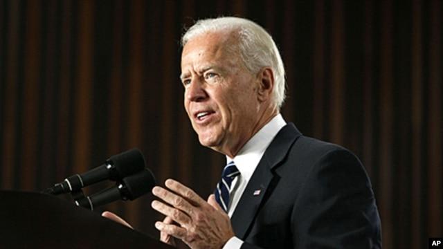 US Vice President Joe Biden (file photo)