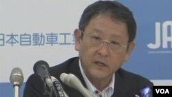 日本丰田公司总裁丰田章男