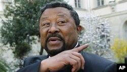 Jean Ping, presidente cessante da Comissão da União Africana