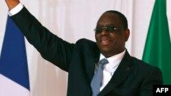 Le président sénégalais Macky Sall à Saint-Louis, au Sénégal, le 3 février 2018.