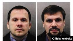Фото з російських паспортів підозрюваних, які оприлюднила британська поліція