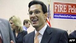 Ожидается, что в следующем году лидером большинства в Палате представителей станет республиканец от штата Вирджиния Эрик Кэнтор (архивное фото)