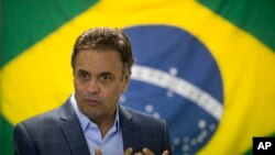 Aécio Neves, presidente do PSDB